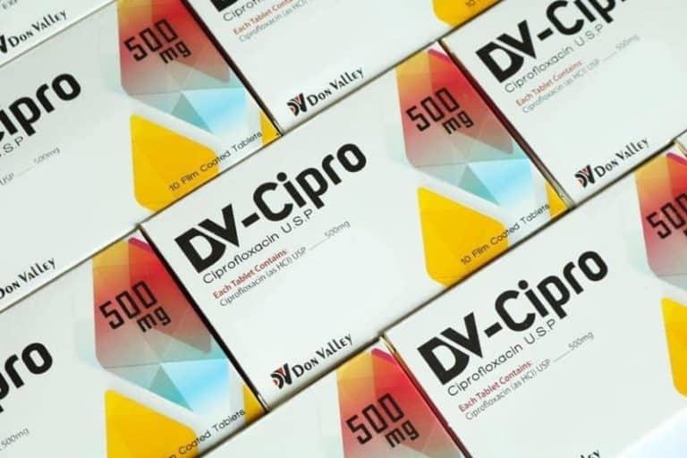 DV-Cipro (Ciprofloxacin) Tablets 01