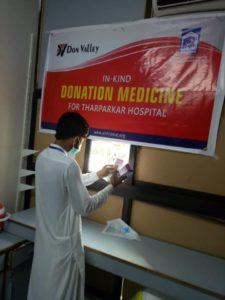 Medicine Donation Alkhidmat Hospital Tharparkar Sindh 02
